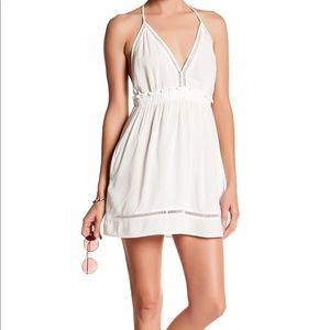 Red Carter Halter Dress Swim Cover-up